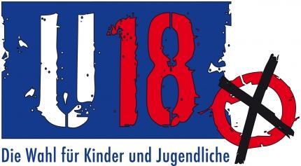 Grafik: Logo der U-18-Wahl